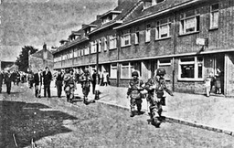 18 september 1944 tussen Pastoor Peters- en Houtstraat.