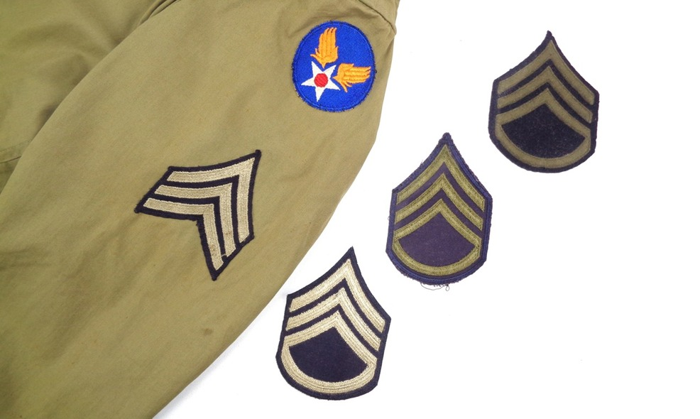 rank stripes